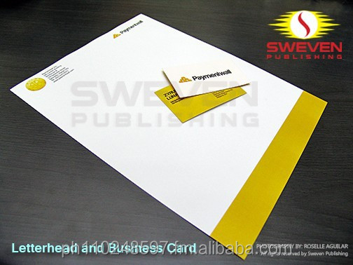 Quality Customized Company Letterhead Printing