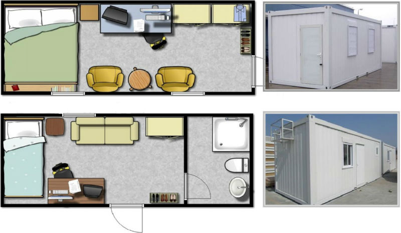 Container home drawing