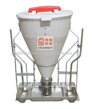 easy use high performance dry wet pig feeding system