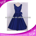 New arrival ladies dress cotton design in Guangzhou