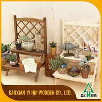 Best Selling Forest Wooden Pots Stands