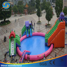 Commercial octopus inflatable pool, inflatable swimming pool, inflatable pool rental