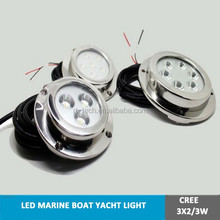 LED boat dock light ocean led underwater lights,waterproof,LED marine light 6W swimming pool light