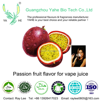 Sweet Passion fruit flavor vape juice liquid concentrate flavor for E cigarette use