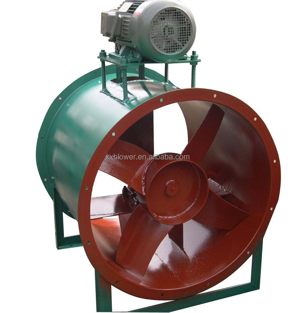 AC Electric Smoke Exhausting Heat Resistant Axial Flow Fan