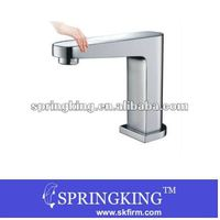 New Model Hot Cold Mixer Automatic Hand Touch Free Sensor Faucet Bathroom Sink Tap