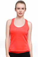 Women's Round-neck Spandex Quick-dry Plain Tank Top Sports