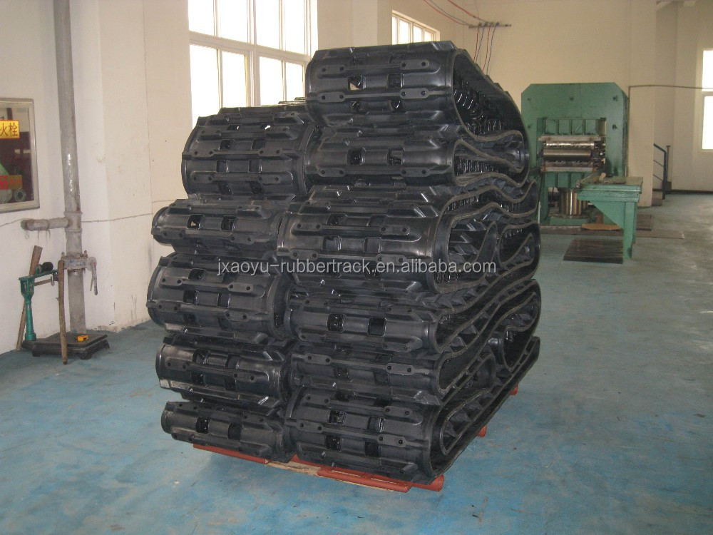 Good Quality Hagglunds BV 206 Rubber Track, ATV Rubber Track PERFECT PRICE, Factory Manufacture