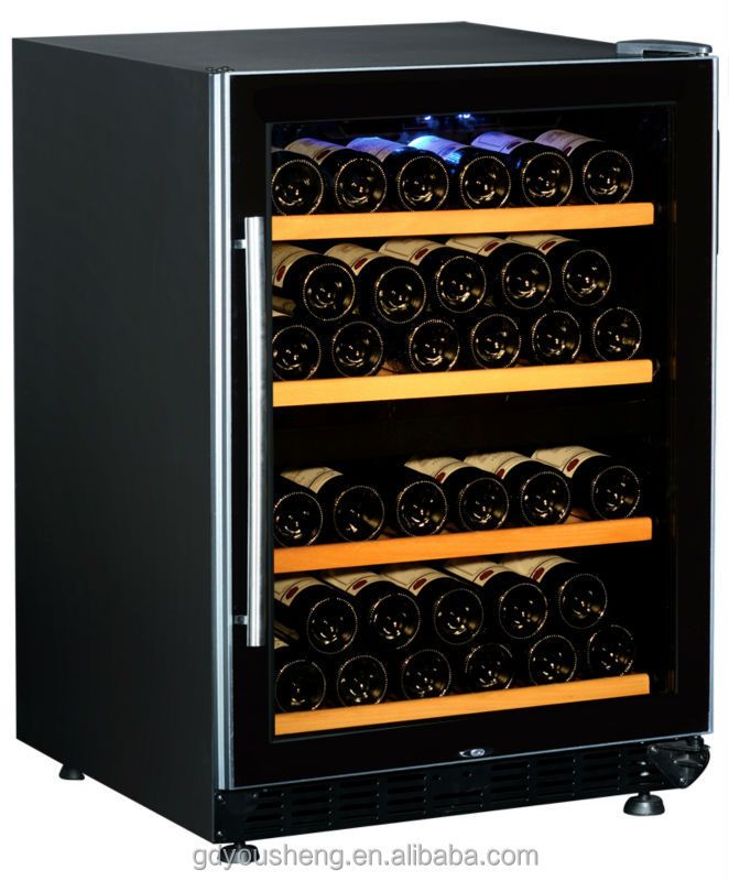Led light fashionable electric wine cooler wine chiller wine fridge USF-54D buying online in china