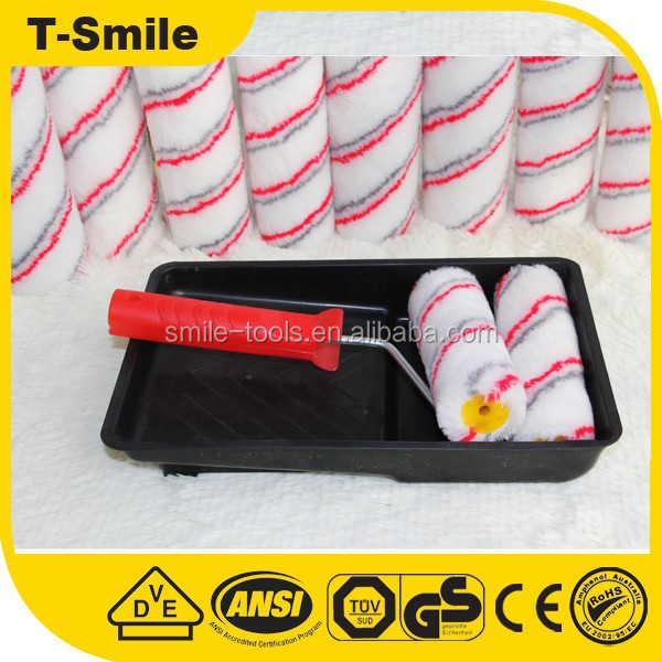 Various Sizes Paint rollers,Plastic Handle Brush roller, Good paint roller tool