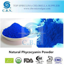 High Quality food Grade Phycocyanin Powder passed FDA certified