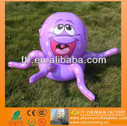 New style advertising 1m Dia PVC inflatable squid model