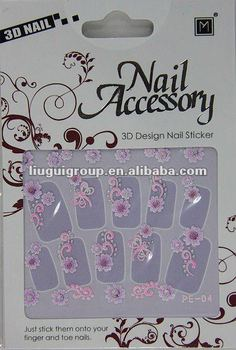 Shinning Nail sticker