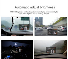 Alibaba Best Sellers NEW 3.5Inch Car Hud Display For Universal Cars