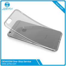 Factory OEM ultra thin soft tpu crystal mobile back cover for iPhone 6 Plus case