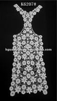 Floral print cotton lace back designs for ladies vest