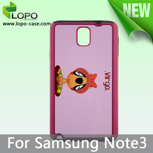 Latest New Sublimation TPU 2in1 Case for Samsung Note 3