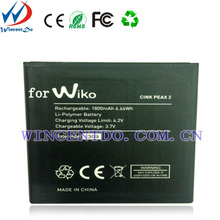 OEM service Mobile Phone Battery For Wiko Cink Peax 2