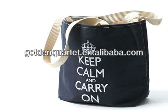 Heavy duty Canvas document hand bag / High quality cotton canvas tote bag( SA8000, BSCI, ICTI social audit factory)