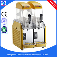 Factory wholesale CE Rohs approved 2 bowl commercial snow mud machine