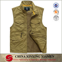 Chinese made Hot Custom Multi Pocket Fly Fishing Vest
