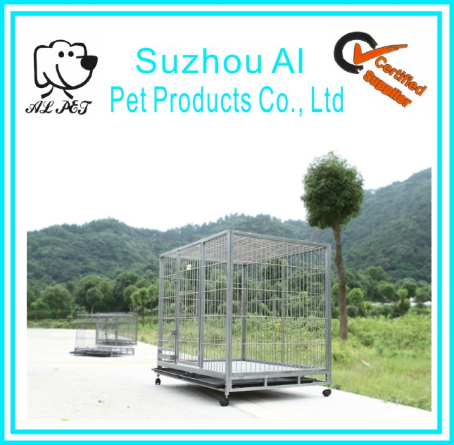 High Quality Wholesale Pet Kennel Metal Outdoor Large Dog Cages