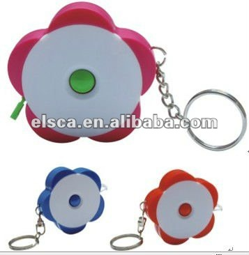 flower clothes measurements with key chain