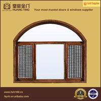 High-end casement style aluminum wood swing windows