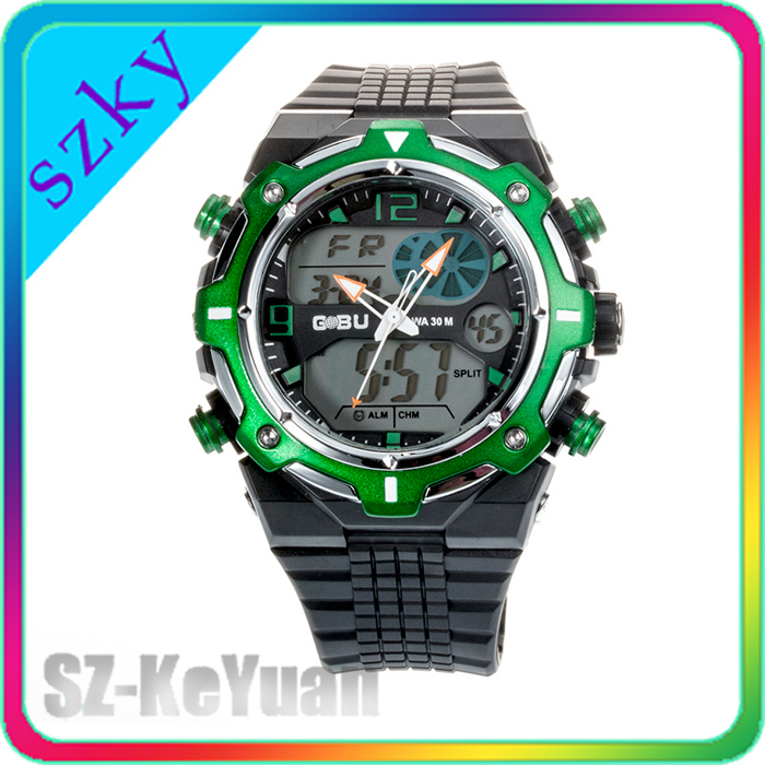 GBU 1533 Good Quality Wholesale Price Rubber Band Waterproof Child Watch