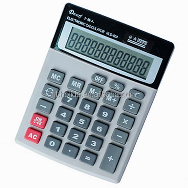 Desktop calculator, big calculator/ HLD-804