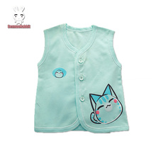 100% cotton Summer Baby's Vest Baby t-shirts