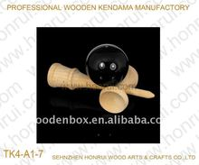 Wholesale 2015 Wooden Kendama Balls With Sticky And Durable Paint For Adult Toy