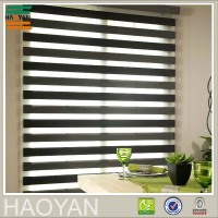 Haoyan wholesale roller blinds plastic ball chain zebra curtain