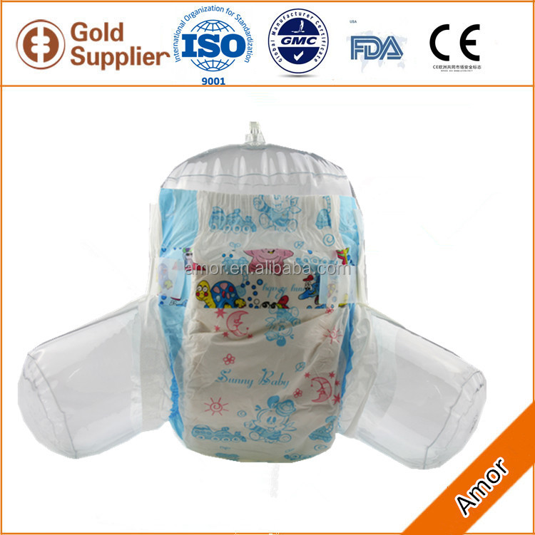Factory price baby diaper sanitary napkin