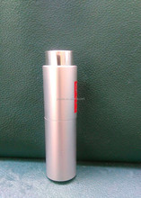 New design15ml aluminum airless pump bottles twist up manufacturer made in China