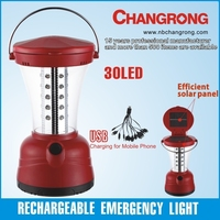 Multifunction portable solar lantern with mobile charger