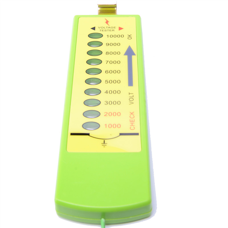 Testing Equipment 1000V-10000V ABS Electric Fence Tester