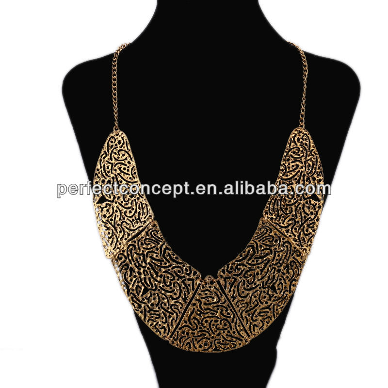 Fashion Necklace Hollow out4 Chain Jewlry