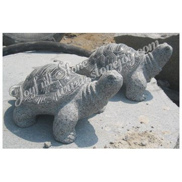 Garden Stone Tortoise Sculpture, Small Animal