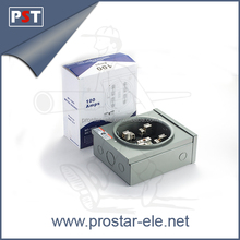 100A Square Meter Socket Box