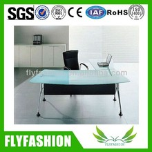 Office furniture glass office desk/ executive office table