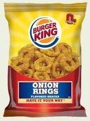 Burger King Onion Ring Snacks