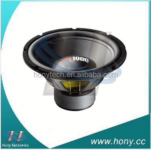 Hony AUDIO 12 inch Black car audio subwoofer/car speaker