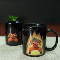 11oz china products dragon ball z heat sensitive magic coffee color changing mug