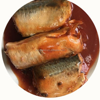Chinese famous canned food mackerel fish in tomato sauce 425G see food