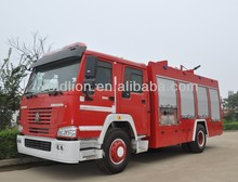 266HP 1500-2000 gallon size of fire truck