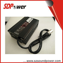high quality 12V 24V 36V 48V 120W lithium li-ion Battery Charger for forklift, Electric car, electr bicycle scooter