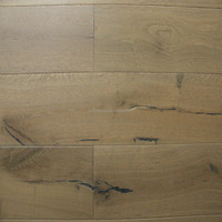 Oak engineered flooring- rustic , smoked and stained