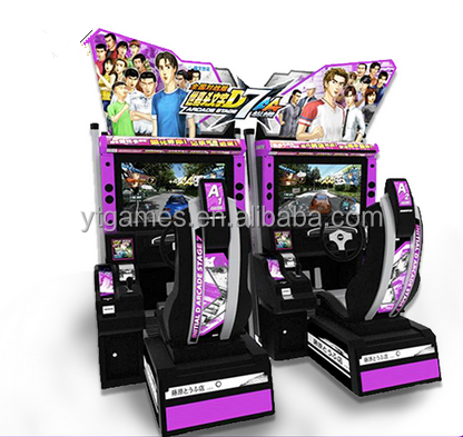 32 LCD 2016 vedio car racing electronic dart game machine arcade video coin operated driving car game machine