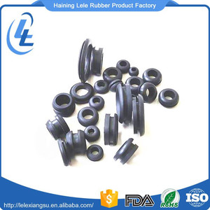 High quality small tube mechanical sealed rubber grommet connector